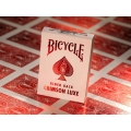 Карти за игра Bicycle Metallux Crimson
