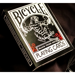 Карти за игра Bicycle Black Tiger